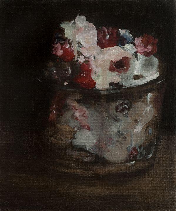 Berries and Cream in the Dark - Julia Stania