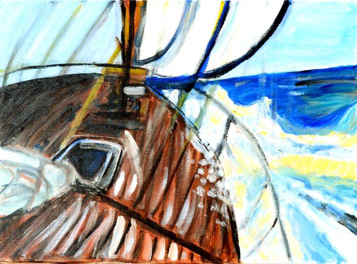 Storm in liberty (tempête en liberté - Mamoune The Artist