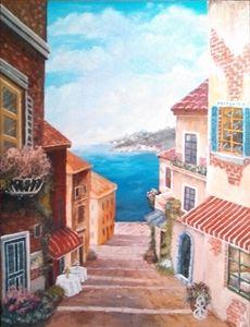 Italian Seaside City