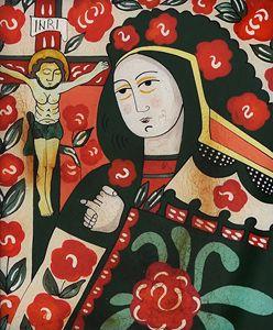 Byzantine religious painting