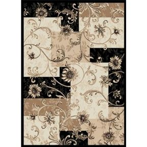 Flower Design Area Rug - TimsArtShop