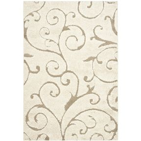 Swirl Design Area Rug