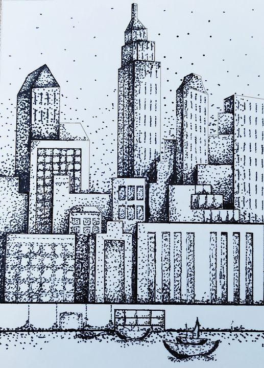 New York, Speckled - Maria J.Z.