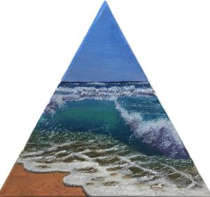 Triangle sur mer