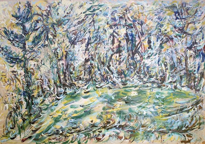 Expressive Woods - Evelyn Bell Vodicka