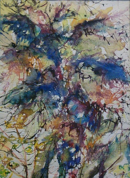Abstract Plants - Evelyn Bell Vodicka