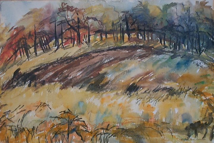 Abstract Landscape - Evelyn Bell Vodicka