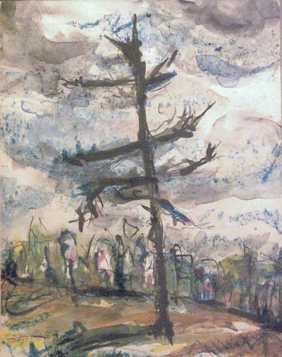 Leafless Tree - Evelyn Bell Vodicka
