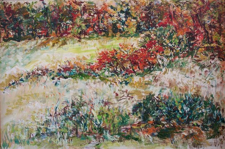 Field with Flowers - Evelyn Bell Vodicka