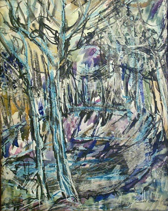 Abstract Woods - Evelyn Bell Vodicka