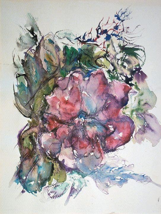 Large Flower - Evelyn Bell Vodicka