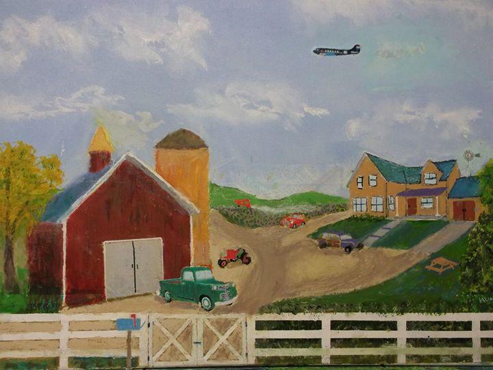 Vintage Farm - JKHughesPaints