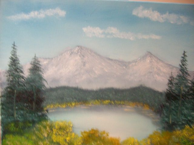 Pond Mountain View - JKHughesPaints