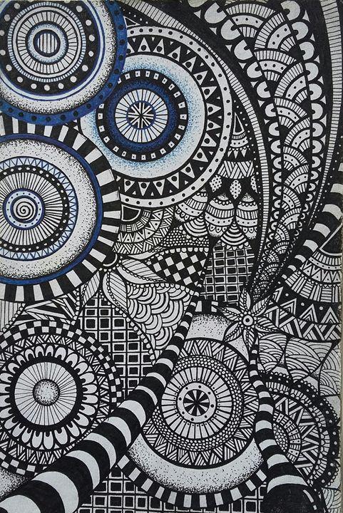 Zentangle/geometric drawing - Zentangler