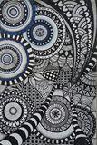 Zentangle/geometric drawing