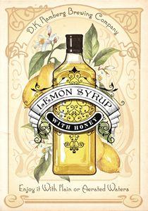 Lemon Syrup with Honey