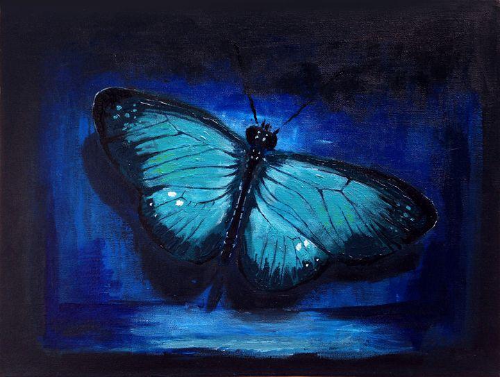 Blue Butterfly - S O O N