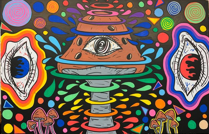All Seeing Shrooms - Izzy