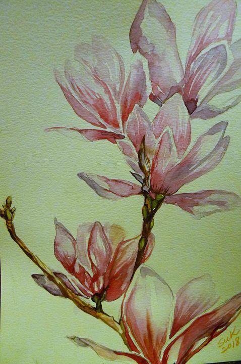 Blossoms - Suk Sun