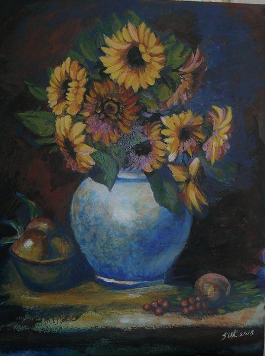 Sunflower with Base - Suk Sun