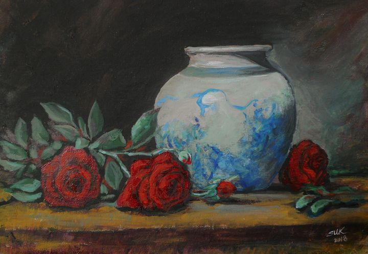 Red Rose - Suk Sun