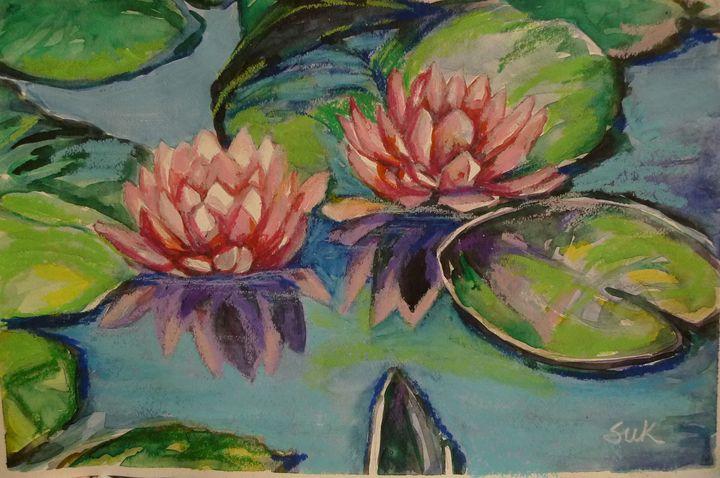 lotus of pond - Suk Sun