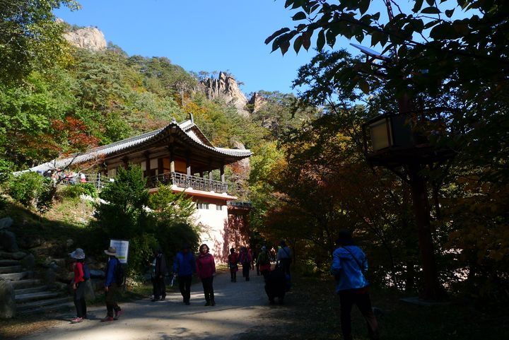 temple in the mountain - Suk Sun