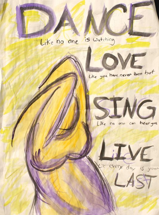 dance, love, sing, live - in Awe