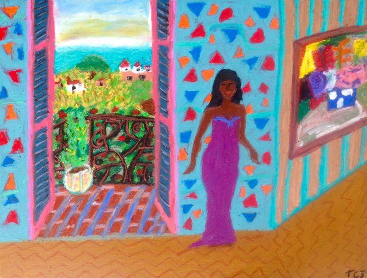 Cleopatra's Morning Rise - T.C.Jordan Art Studio