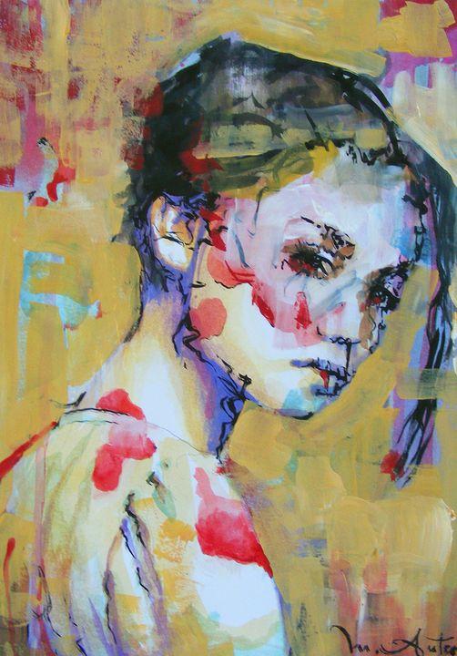 Portrait of a girl - Marian Anton