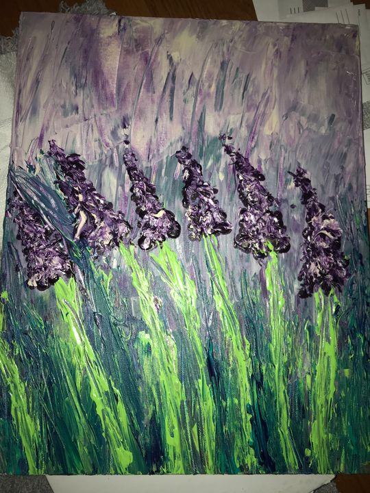 Lavender fields forever - Cristina Marie Designs