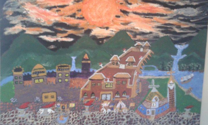 a Dream Castle of light -  Scottbarnes7985