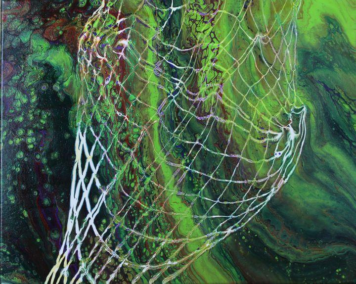 Cosmic Net 16x20 - Sillouetto T