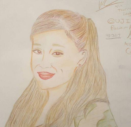 Ariana Grande Drawing - Wxinny
