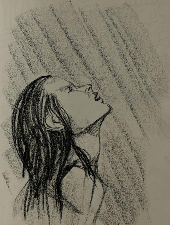Charcoal Rain - AmarisMorn Art