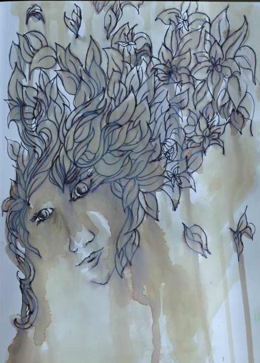 When the Woods Weep - AmarisMorn Art