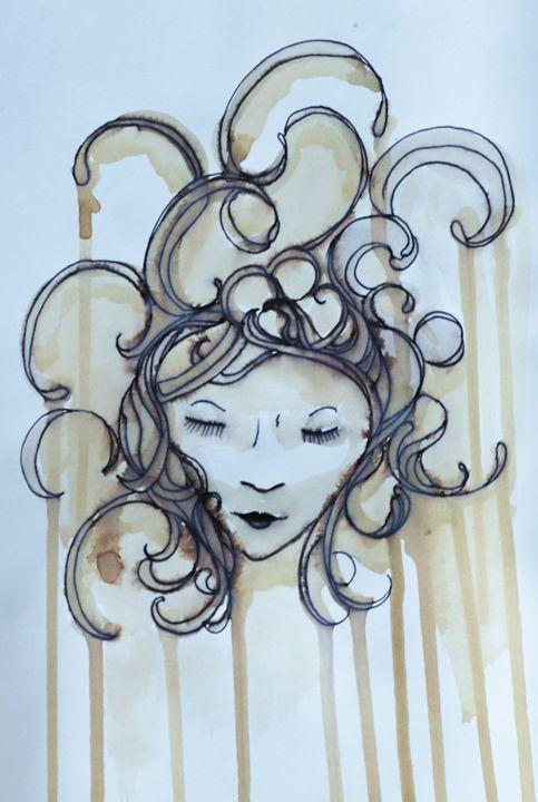 Tea Leaves - AmarisMorn Art