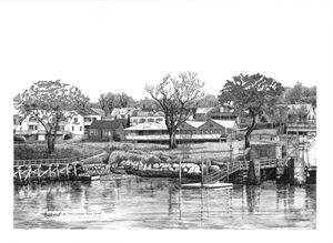 Jones' Landing, Peaks Island
