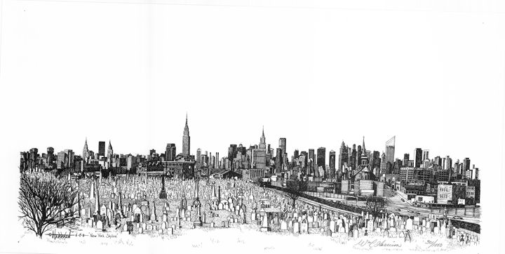 New York Skyline - William C Harrison