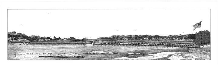 Last Cribstone Bridge(Baileys Is.)ME - William C Harrison