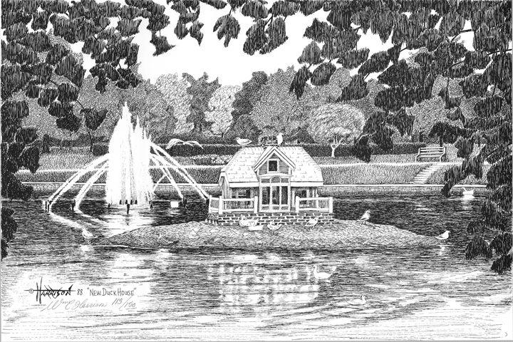 New Duck House - William C Harrison