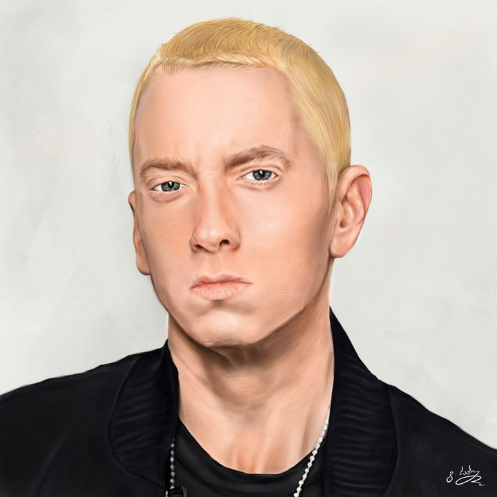 Eminem- Digital Painting - Giorgi99