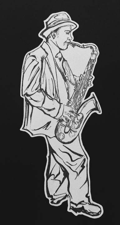 Sax player - Nathanael C John