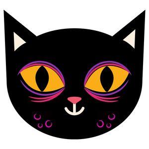 Cute Little Black Cat