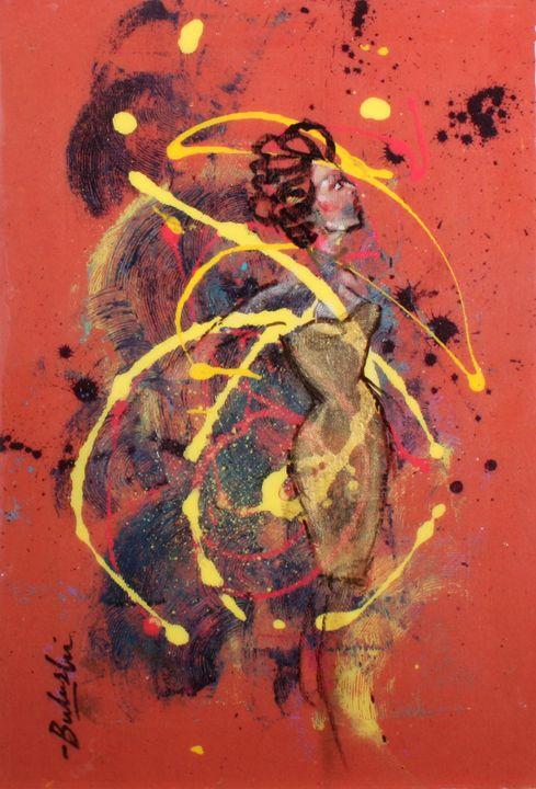 The Fans of Love 10 - Bulushi Fine Art