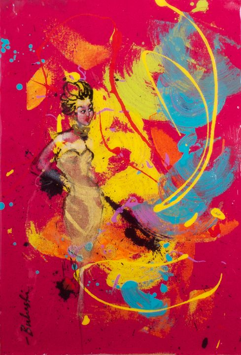 The Fans of Love 8 - Bulushi Fine Art