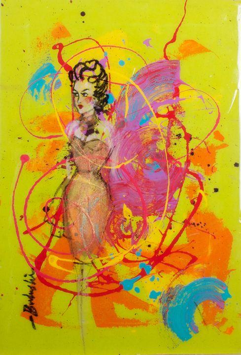 The Fans of Love 3 - Bulushi Fine Art