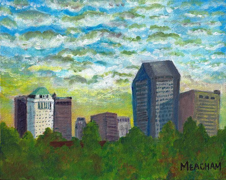 Columbus Skyline - Barbara J Meacham
