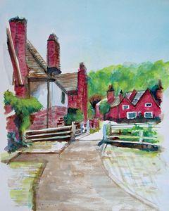Cottages in Village