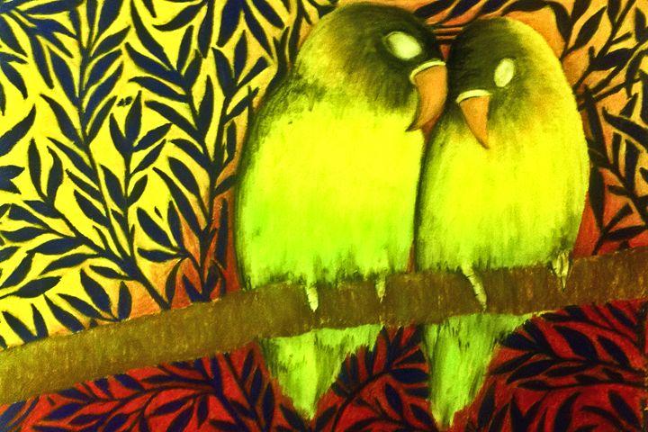 Love Birds - Art by Pedro I. Vargas